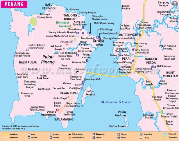 city-map-of-penang