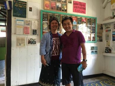 With Andrea Hirata